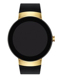 Movado 46.5Mm Connect Smartwatch Black Golden