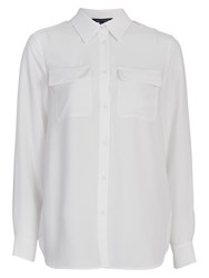 French Connection Pippa Plains Shirt Winter White
