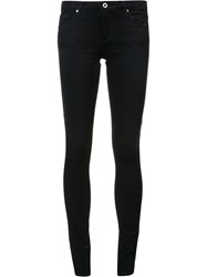 Ag Jeans Low Rise Skinny Black