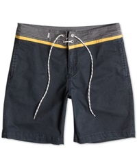 Quiksilver Street Trunk Contrast Yoke Shorts Anthracite