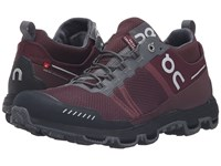 On Cloudventure Midtop Mulberry Grey Women's Running Shoes Brown