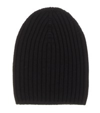 Barrie Cashmere Hat Black