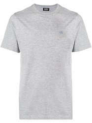 Andrea Crews Logo T Shirt Grey