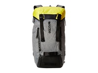 Incase Halo Collection Courier Backpack Heather Gray Black Yellow Backpack Bags