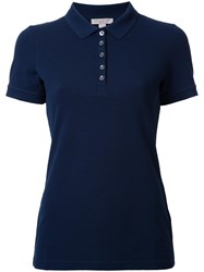 Burberry Classic Polo Shirt Blue