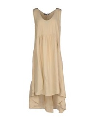 Aniye By Knee Length Dresses Beige