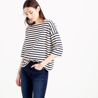 J.Crew Oversized Drop Sleeve Striped T Shirt