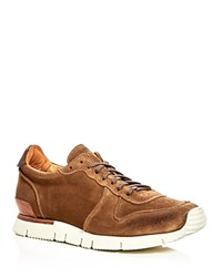 Buttero Carrera Lace Up Sneakers Tobacco