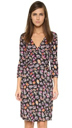 Diane Von Furstenberg New Julian Silk Dress Vintage Gypsy Fleur Multi