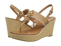 Tommy Hilfiger Maree Sable Oro Women's Wedge Shoes Tan