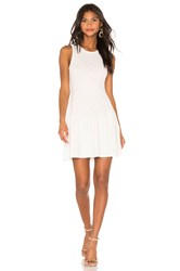 Parker Mabel Knit Dress White