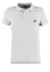 United Colors Of Benetton Muscle Fit Polo Shirt Grey