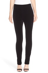 Theory 'Trinwell' Stretch Leggings Black