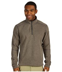 Kuhl Revel 1 4 Zip Oatmeal Men's Sweater Brown