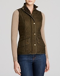 Barbour Vest Calvalry Gilet Olive