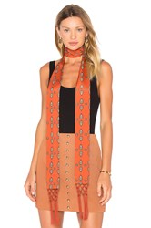 House Of Harlow X Revolve Ossie Scarf Rust