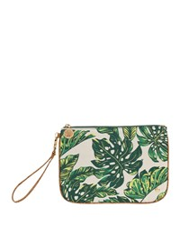 Stephanie Johnson Seychelles Green Large Flat Wristlet