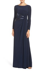 Adrianna Papell Women's Sequin Jersey Gown