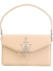 J.W.Anderson J.W. Anderson Logo Plaque Tote Nude And Neutrals