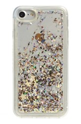 Skinnydip Ely Glitter Iphone 6 6S And 7 Case Blue