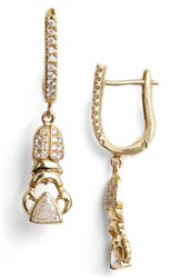 Daniela Villegas Women's Khepri Diamond Hoop Earrings Nordstrom Exclusive