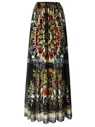 Roberto Cavalli Day Dream Print Maxi Skirt Multicolour