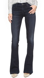 Gold Sign Stella Mid Rise Flare Jeans Embrace