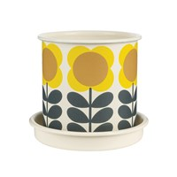 Orla Kiely Big Spot Flower Plant Pot Medium