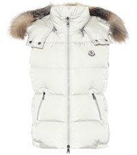 Moncler Gallinule Down Vest White