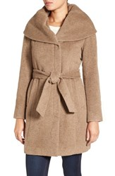 Cole Haan Women's Shawl Collar Belted Coat