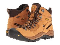 Keen Utility Pittsburgh Wheat Men's Work Pull On Boots Tan