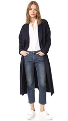 Ayr Robe Coat Navy