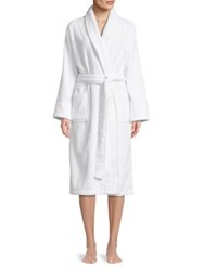 Lord And Taylor Cotton Robe White