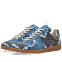 Maison Martin Margiela 22 Replica Low Washed Denim Sneaker Blue