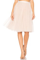Needle And Thread Tulle Midi Skirt Pink