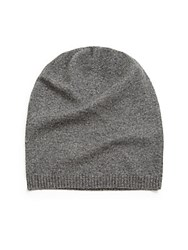 Saks Fifth Avenue Cashmere Slouchy Hat Forest Gre