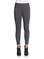 Willow And Clay Cropped Leggings Charcoal