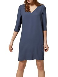 Selected Femme Tunni Loose Fit Dress Ombre Blue