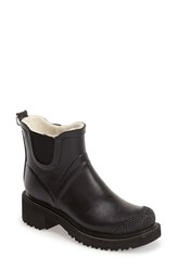 Women's Ilse Jacobsen Hornbaek 'Rub 47' Short Waterproof Rain Boot 2 1 2' Heel