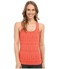 Marmot Vogue Tank Top Emberglow Batik Women's Sleeveless Orange