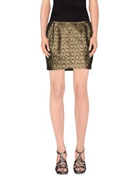Faith Connexion Skirts Mini Skirts Women Gold