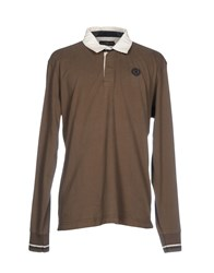 Henri Lloyd Polo Shirts Dark Brown