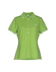 Roy Rogers Roy Roger's Topwear Polo Shirts Women Green