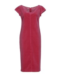 Laviniaturra Knee Length Dresses Garnet