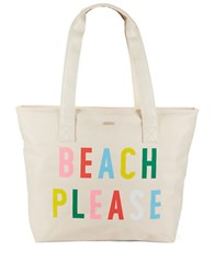Ban.Do Beach Please Just Chill Out Cooler Bag White