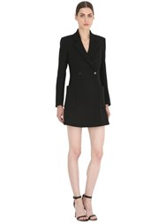 Salvatore Ferragamo Jacket Style Wool Dress