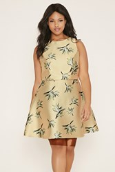 Forever 21 Plus Size Floral Crop Top
