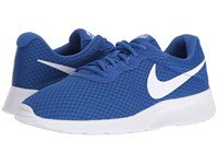 Nike Tanjun Game Royal White Men's Running Shoes Blue