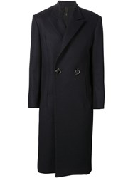 Y Project Toggle Fastening Overcoat Black