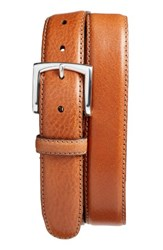Bosca Men's The County Line Leather Belt Tan